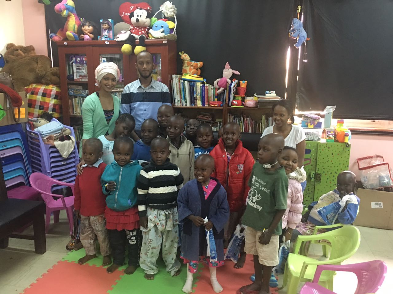 Fozia mohamed gives back to the community